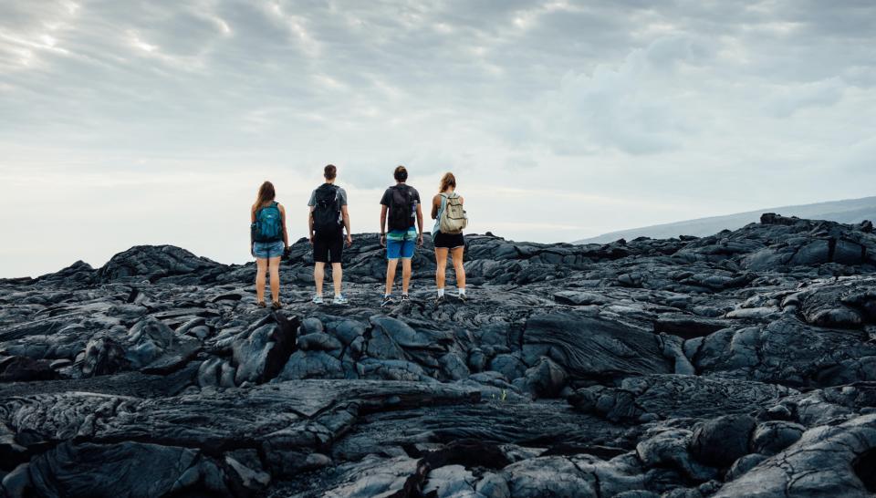 欧胡本岛休闲观光+火山大岛轻探险7天小团  (含雨林瀑布步道和岩浆健行)