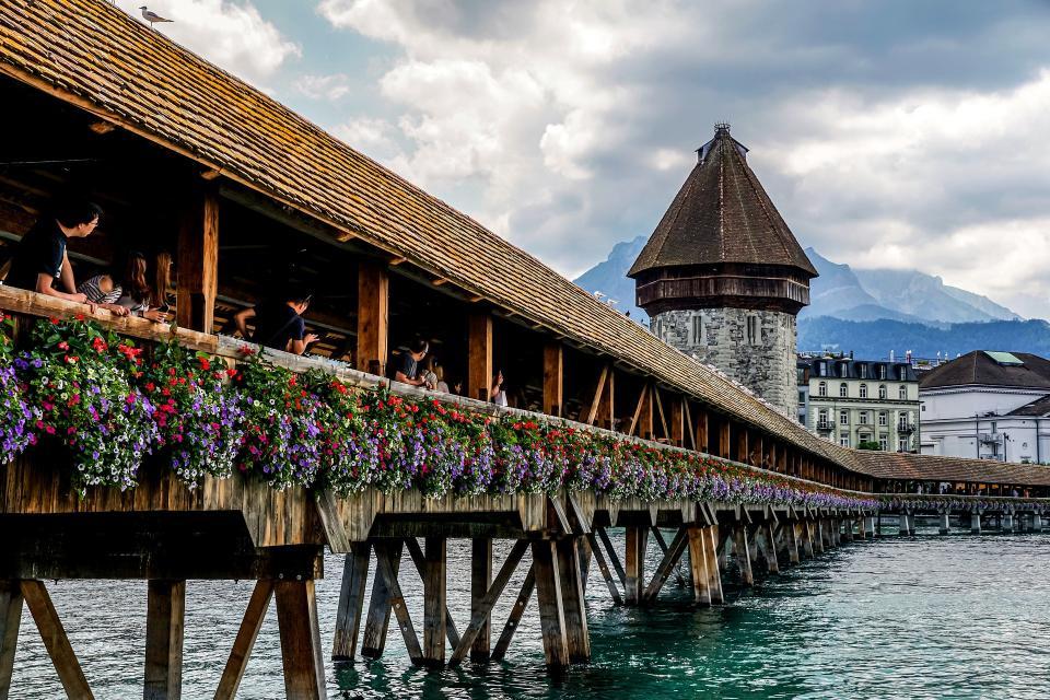 湖光山色瑞士四天精选